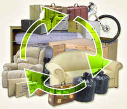 Junk Eco works hard to recycle customers' junk, and avoid landfills. We accept nearly all junk, and can be be available same day in most cases.
